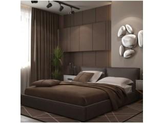 Спальня с коричневыми стенами: идеи как украсить интерьер